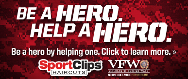 Sport Clips HATTIESBURG - HWY 98​ Help a Hero Campaign